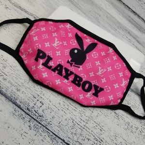 Other - Reusable pink/black Face Mask